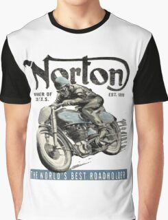 NORTON TT VINTAGE ART Graphic T-Shirt
