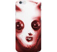 toothy alien anticute cartoon style iPhone Case/Skin