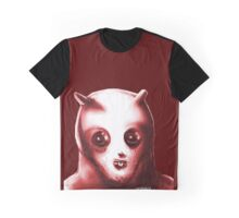 toothy alien anticute cartoon style Graphic T-Shirt