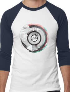 Hello Escher  Men's Baseball ¾ T-Shirt