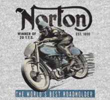 NORTON TT VINTAGE ART One Piece - Long Sleeve