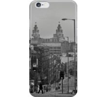 City from the cathedral iPhone Case/Skin