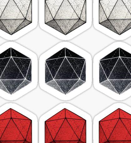 Multi Icosagon Sticker