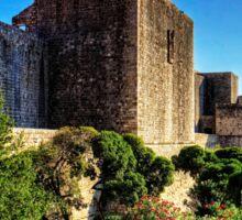 Dubrovnik Garden Sticker