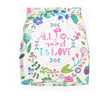 Floral Love Mini Skirt