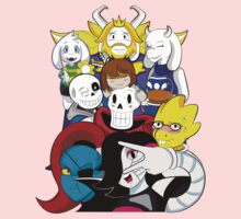 Undertale Everyone One Piece - Long Sleeve