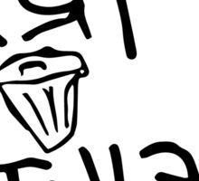 Dirt Style Records logo DJ Q-bert/Piklz Sticker