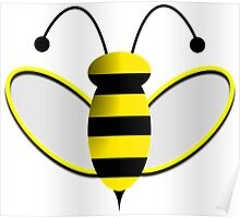 Animated Bumble Bee Poster