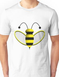 Animated Bumble Bee Unisex T-Shirt