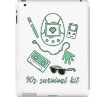 90s survival kit iPad Case/Skin