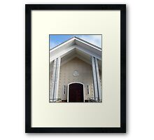 Our Lady of the Rosary Church 2.0 Framed Print