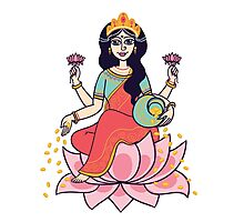 goddess Lakshmi Photographic Print