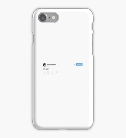 virginia woolf iPhone Case/Skin