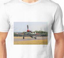 Yakovlev Yak-9UM yellow 06 HB-RYA taxying in Unisex T-Shirt