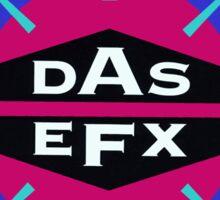 DAS EFX retro 90s logo tee Sticker
