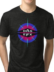 DAS EFX retro 90s logo tee Tri-blend T-Shirt