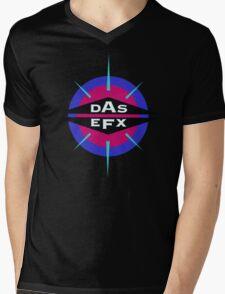 DAS EFX retro 90s logo tee Mens V-Neck T-Shirt