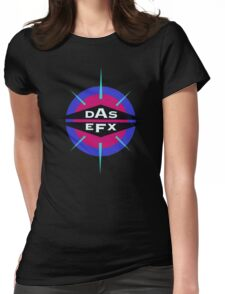 DAS EFX retro 90s logo tee Womens Fitted T-Shirt