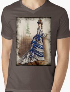 FASHIONABLE LADIES VINTAGE 22 Mens V-Neck T-Shirt