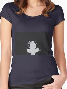 Itachi Anbu Quote Women's Fitted Scoop T-Shirt