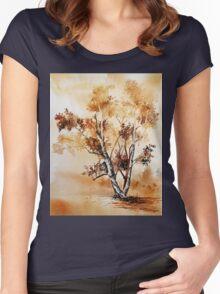 akwarelka 64 Women's Fitted Scoop T-Shirt