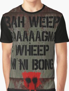 "Transformers - ""Bah Weep!"" Graphic T-Shirt"