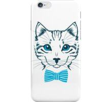 Hipster Cat HQ iPhone Case/Skin