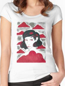 Red Cloud  Women's Fitted Scoop T-Shirt