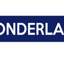 Wonderland Line Sticker