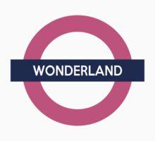 Wonderland Line Kids Tee