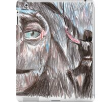 the neverending story film sketch iPad Case/Skin