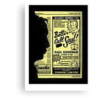 """Better Call Saul"" Canvas Print"