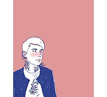 Pink Dan Howell Aesthetic Photographic Print