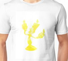 Lumiere inspired silhouette Unisex T-Shirt