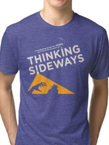 TSP logo for dark shirts Tri-blend T-Shirt