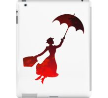 Mary Poppins inspired silhouette iPad Case/Skin