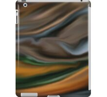 Digital painted texture background. Abstract blurred illustration, color, silk, liquid print iPad Case/Skin