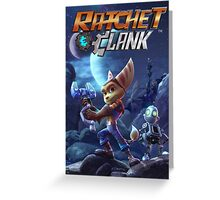 ratchet clank Greeting Card