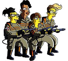 Ghostbuster Team Photographic Print