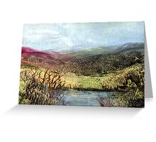 Moorland View 2 Greeting Card
