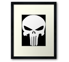 The Punisher Insignia Framed Print