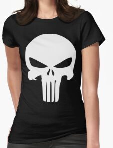 The Punisher Insignia Womens Fitted T-Shirt