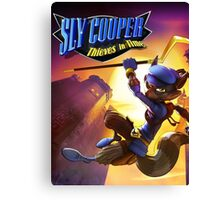 sly cooper all thieves in time Canvas Print