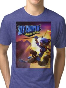 sly cooper all thieves in time Tri-blend T-Shirt