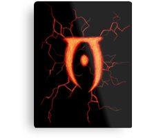 Oblivion Logo Metal Print