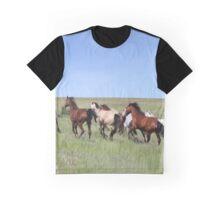Herd of Horses  Graphic T-Shirt