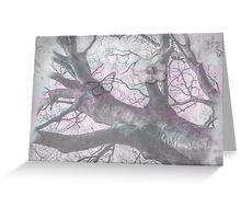 Beautiful Faded Oak Greeting Card