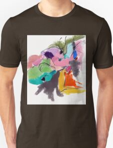 Abstract Figure Unisex T-Shirt