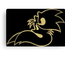 Sonic and tails. Canvas Print