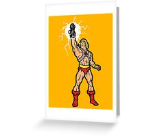 I have the powerglove Greeting Card